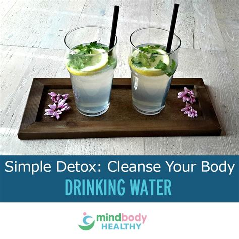 Water Only Detox Cleanse by Simple Detoxification Cleanse Your Water