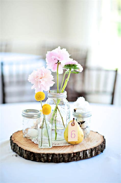 looking for tree slices for centerpieces weddingbee