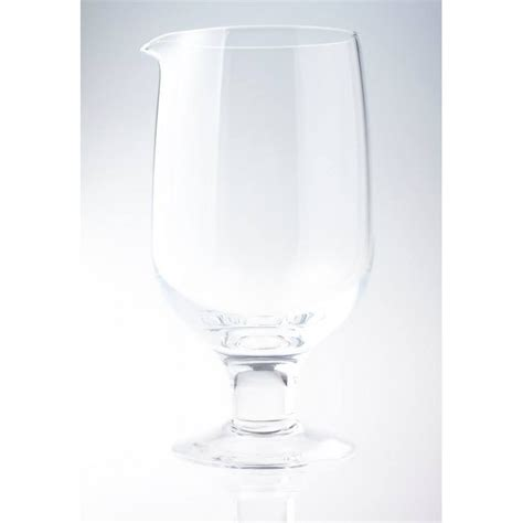 mixing glasses barware seamless crystal japanese mixing glass with leg star shaker