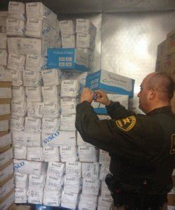 Los Angeles Sheriff Department Warrant Search Authorities Serve Search Warrant At Downtown L A Facility Recover 300 000 Worth Of