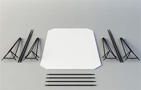 tavolo componibile tavolo wireframe in acciaio componibile ideare casa