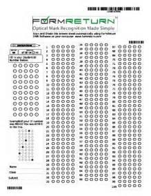 100 question answer sheet template formreturn help manual