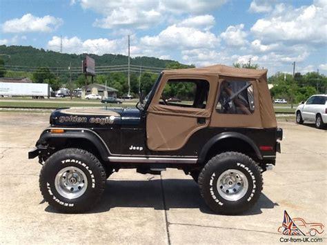 jeep cj jeep cj 7 golden eagle white image 156