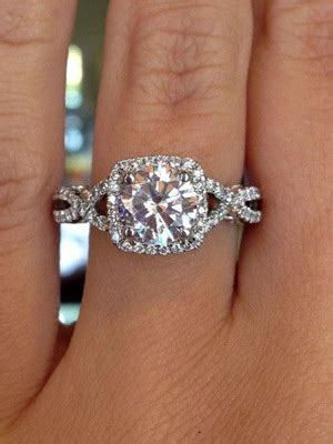 Wedding Bands For Twisted Engagement Rings by 20 Princess Cut Wedding Engagement Rings Will Make Saying