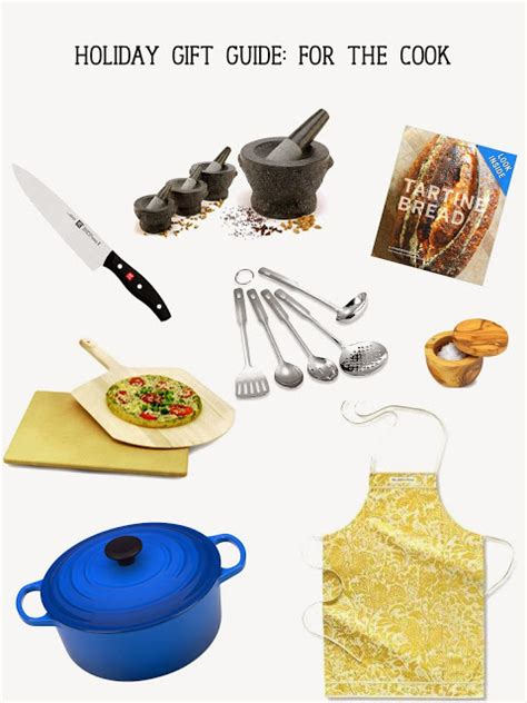 a refined outlook holiday gift guide for the cook