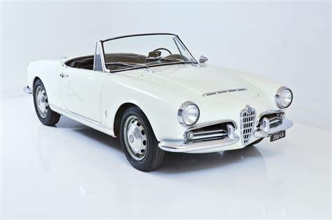 1964 Alfa Romeo Giulia Spider 1964 Alfa Romeo Giulia 1600 Spider And Classic