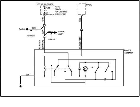 volvo power antenna wiring diagram wiring diagrams