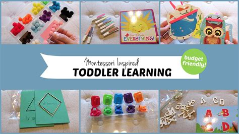 free printable montessori materials for toddlers 10 montessori inspired toddler learning activities youtube