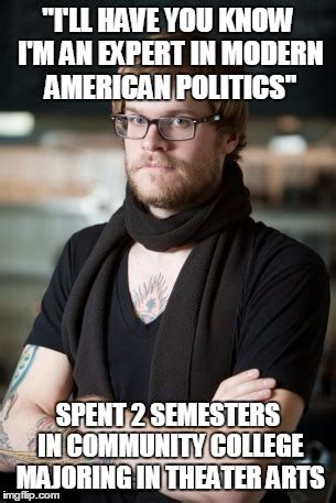 Community College Meme - quot he s man enough for hillary quot imgflip