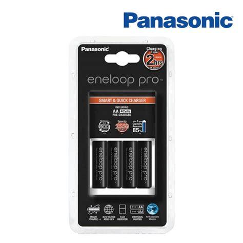 Charger Panasonic Eneloop 2 Hours Eneloop Pro 2500mah Isi 4 panasonic eneloop pro aa 2550mah pack of 4 2 hours charger