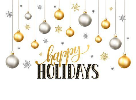 beautiful happy holidays stock