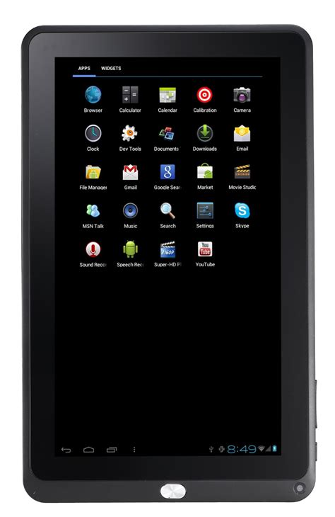 android tablet 10 inch tivax mitraveler10c2 10 inch pc android 4 0 tablet