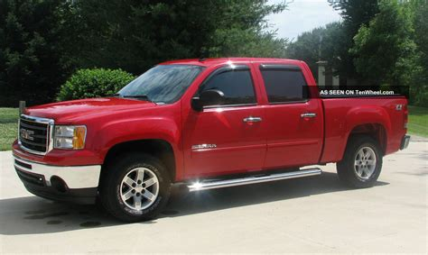 2010 gmc 1500 4x4 sle crew cab 4 door 5 3l