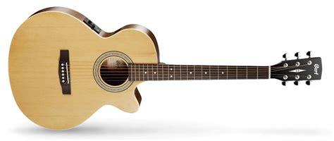 Gitar Akustik Kepma A2c Nat Satin cort sfx me nat naturel elektro akustik gitar