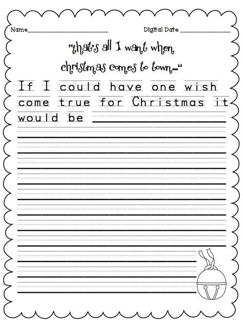 christmas essay themes a day in first grade polar express week
