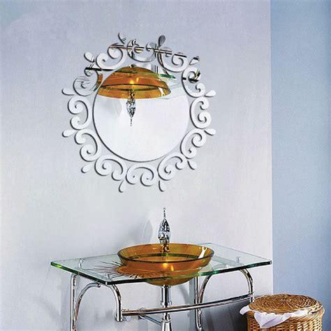 decorative mirror decals vogue decorative mirror acrylic wall stickers home room