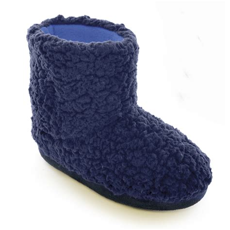 slipper boots childrens boys coral fleece slippers boots indoor