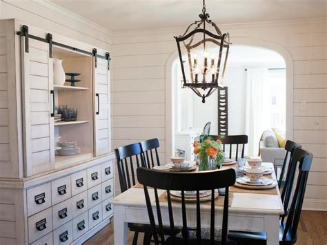 Shiplap Dining Room Wall How To Use Shiplap In Every Room Of Your Home Hgtv S