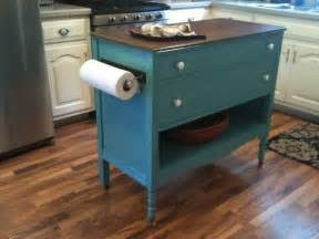 kitchen island with cutting board top upcycled dresser made into kitchen island replace the top with a cutting board or smoother