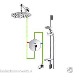 unterputz armatur dusche unterputz komplettset f 252 r dusche regenbrause