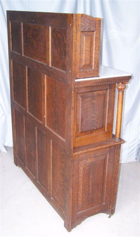 Bargain John's Antiques   Antique Oak Dental Cabinet made