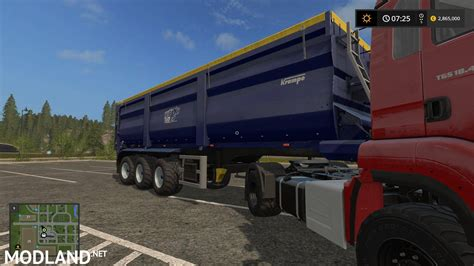 tandem kre sb 30 60 trailer mod for farming simulator kre bandit sb30 60 dh v 1 0 mod farming simulator 17