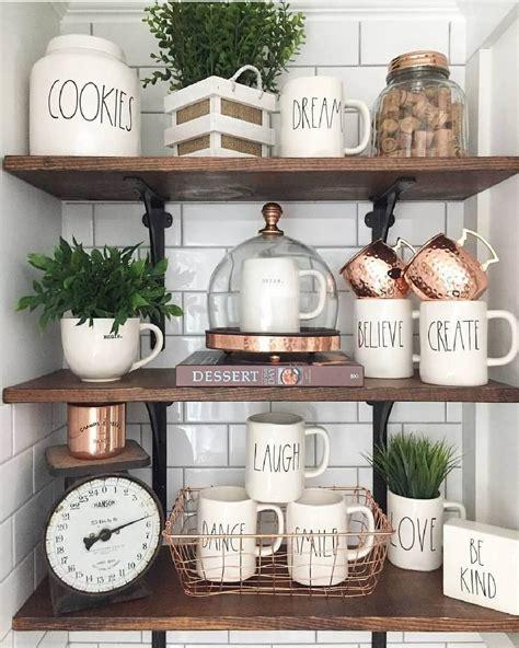 open kitchen shelves decorating ideas 2018 26 best farmhouse shelf decor ideas and designs for 2019