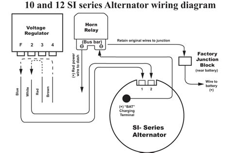 ford alternator wiring diagram regulator wiring