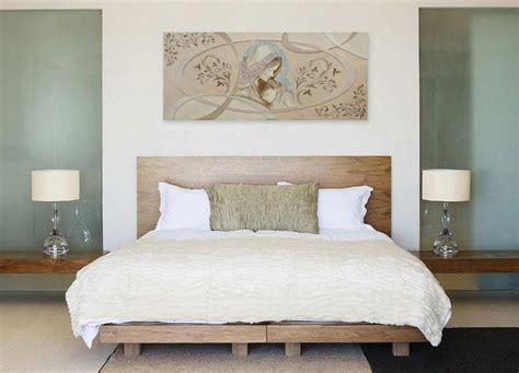 quadro letto quadro su tela un da letto elegante design ce