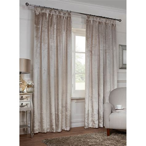 versailles curtains versailles crushed velvet fully lined curtains 90 x 90