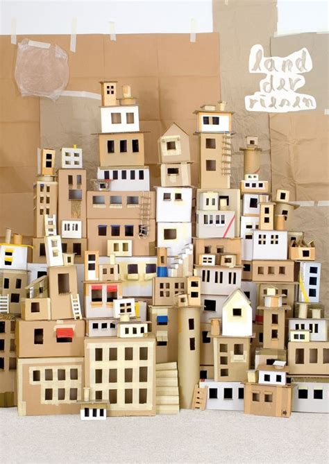 How To Make A City Out Of Paper - c 243 mo hacer ciudades peque 241 as reciclando con cajas de