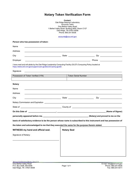 notary verification form definition importance exles