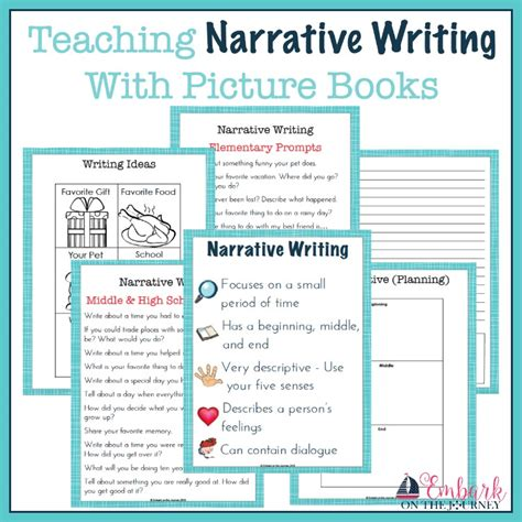 picture books for narrative writing teaching narrative writing with picture books