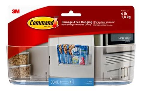 Command Adhesive Shelf by Command Clear Large Caddy