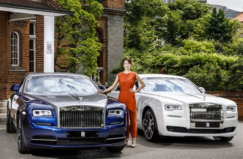 rools royce cars rolls royce shows big with a bespoke collection for