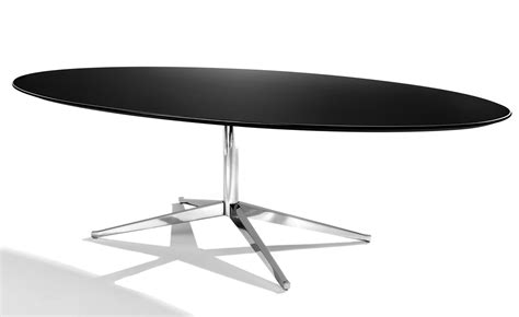 florence knoll table florence knoll 78 quot oval table hivemodern
