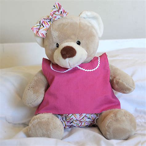free cloth teddy bear patterns free pattern for easy to sew teddy bear clothes build a
