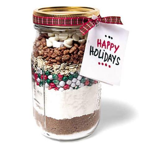 cookies in a jar ingredients homemade gift ideas