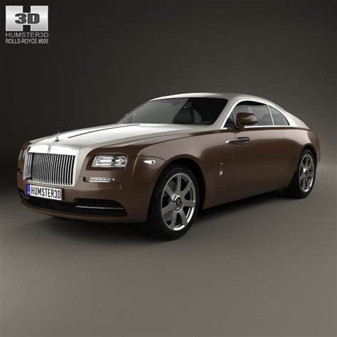 rolls royce wraith 2014 3d model humster3d