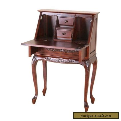 secretary desk for sale victorian style fold out secretary desk solid hand carved