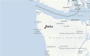 Forks Washington Map by Forks Location Guide