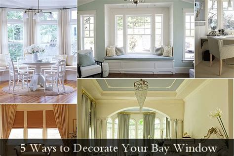how to decorate bay windows 5 ways to decorate your bay window