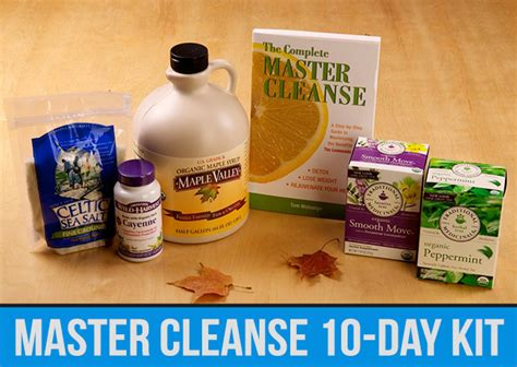 Master Cleanse Detox Ingredients by How To Rid Your Of Up To 30 Pounds Of Accumulated