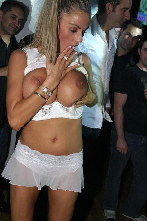 Katie Price Topless Pub