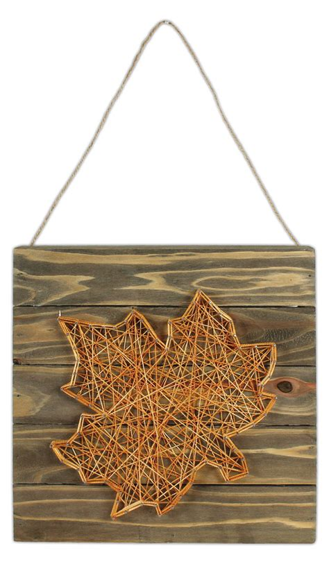 String Project - leaf string pallet crafts direct