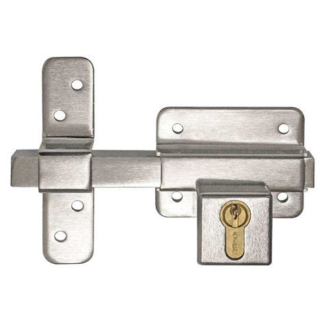 gate lock security bolt with high security cylinder keyprint security ltd keyprint