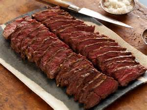 marinated grilled hanger steak recipe anne burrell food network