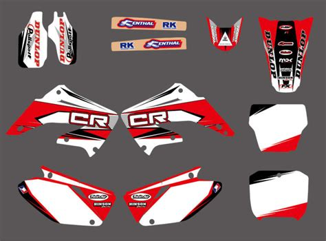 Buy Wholesale Honda Decal Kit - popular cr250 graphics buy cheap cr250 graphics lots from