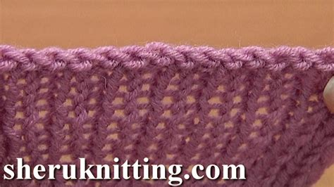 bind in knitting sewn bind cast in knitting tutorial 7 method 10 of