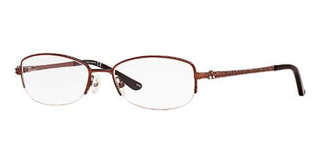 c31028b shop carolee semi rimless eyeglasses at lenscrafters